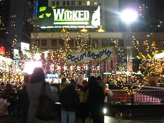 Occupy Broadway: In the wicked light