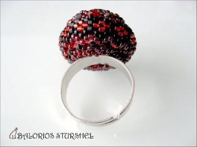 Anillo Solitar Rojo&Negro 3 blog