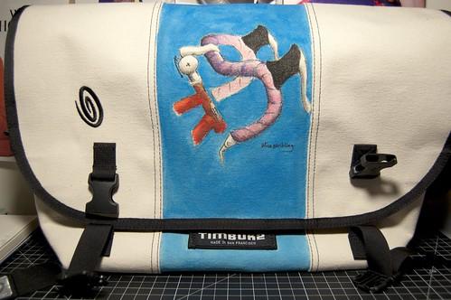 Bag blue front