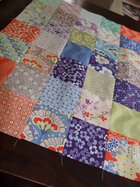 one finished quilt top