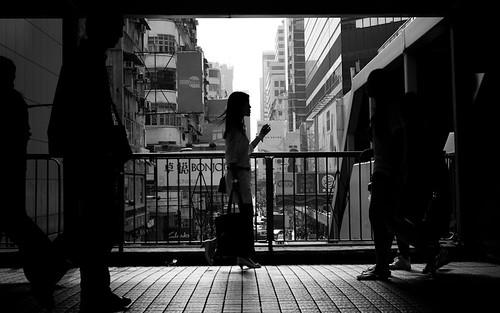 Passing by, Mong Kok - Hongkong