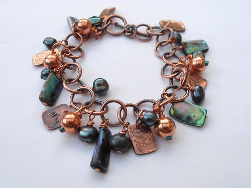 abalone bracelet by greensladejenny
