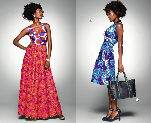 In the Vlisco Delicate Shades fabric collection, design plays a starring role, even more so than usual - Photo credit Vlisco