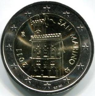 2 Euro San Marino 2011