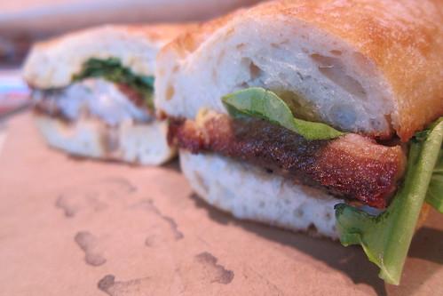 Gjelina Take Away: Pork Belly Sandwich