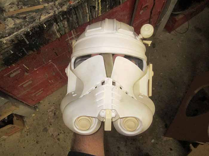 Commander Cody Helmet WIP from EVO3 Kit