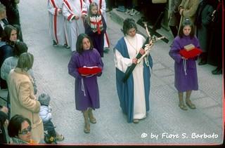 Barile (PZ), 2002, Processione del Venerdì Santo.