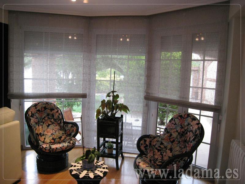Fotos de cortinas instaladas en ambientes - Cortinas para miradores ...