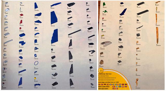 LEGO NinjaGo 9442 - Parts