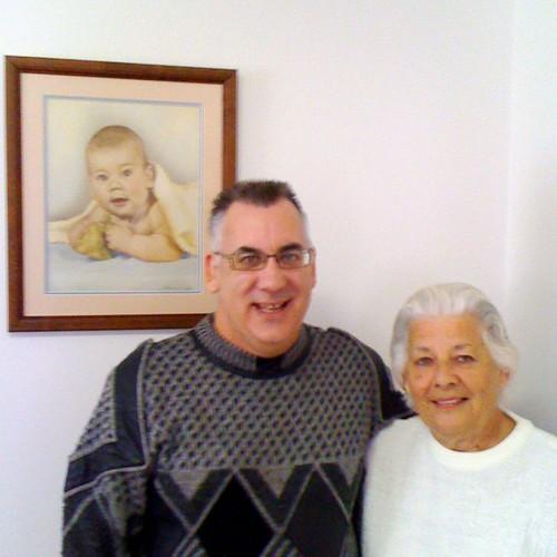 Ian & Mum