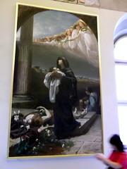 S. Grata che raccoglie le spoglie di S. Alessandro