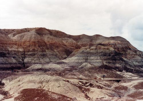 1990, Painted Desert/Petrified Forest, Arizona by Juli Kearns (Idyllopus)