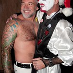 Sexxy Santa and 16th Anniv at Pistons 013