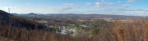 panorama mountain view pennsylvania overlook 93 cunninghamvalley
