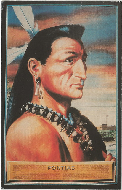 Native American Indian Us Americana Michigan Algonquian
