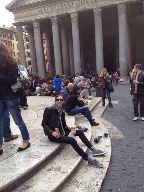 Breakfast at the Pantheon