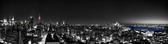 B&W Color Pano NYC
