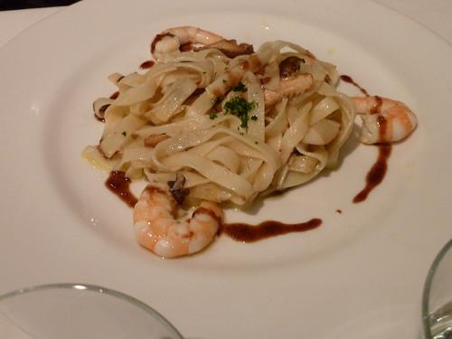 Zaragoza | La Scala | Pasta con langostinos