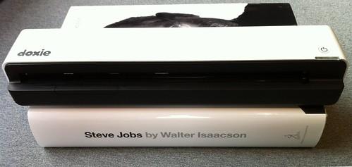 Doxie Go and Steve Jobs