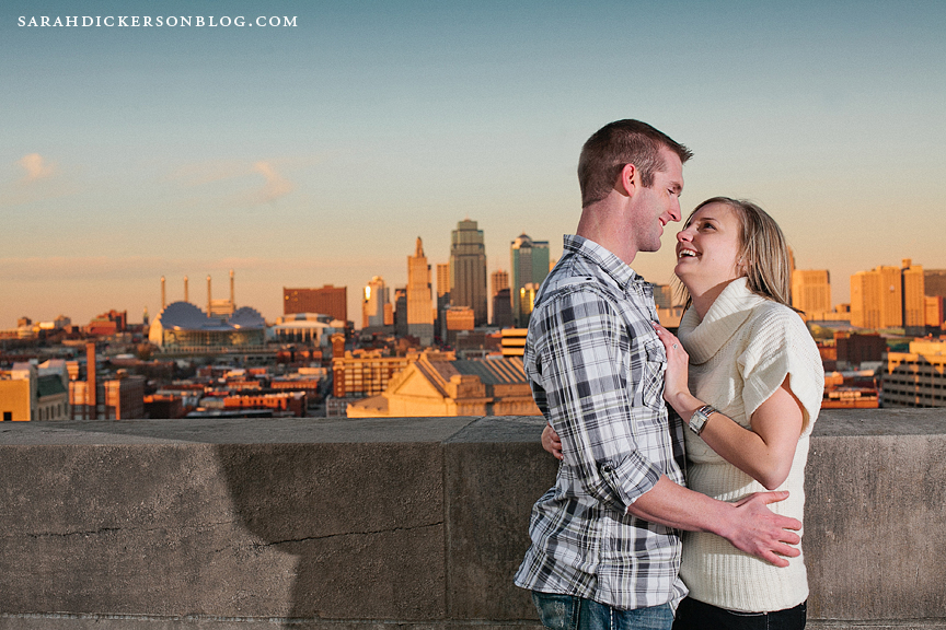 Liberty Memorial Kansas City engagement photos