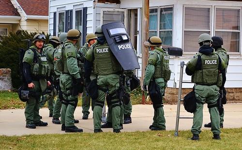 Janesville, Wisconsin police department SWAT