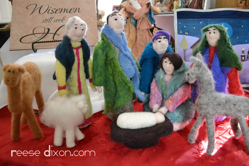 Needlefelted Nativity