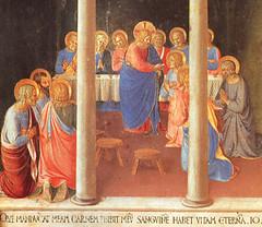 Beato Angélico (1451), Comunión de los Apóstoles