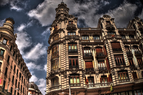 Esquina de Madrid by chucafox