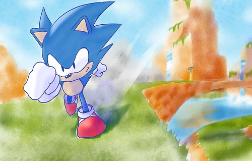 Sonic CD Fan Art Contest Winner - Mexico