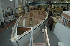 Oyster Yachts construction
