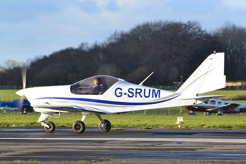 AERO AT-3 R100 G-SRUM at Dunkeswell