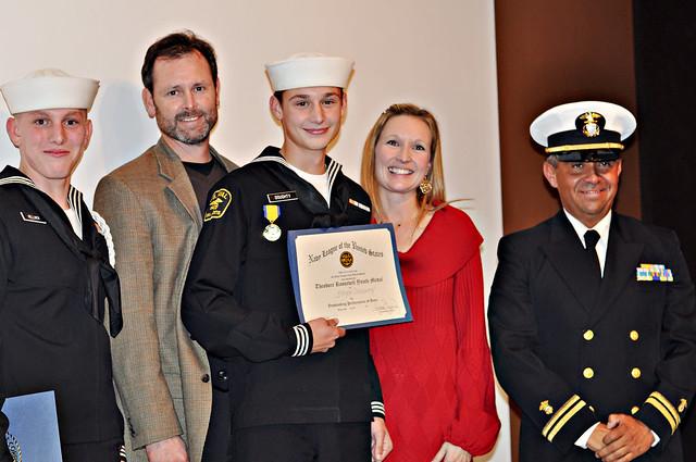 Military Ball 2011 Bryce Rich Jen award