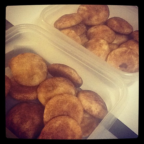 Snickerdoodles for the office!