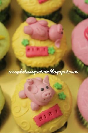 Fondant Pig Riri