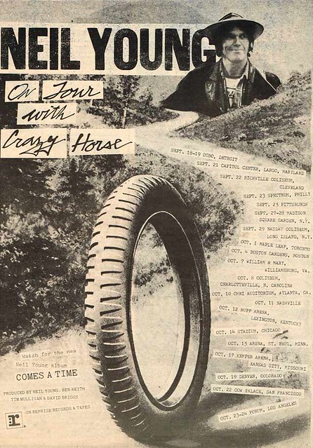 Vintage Ad #1,789: Neil Young on tour with Crazy Horse, 1978