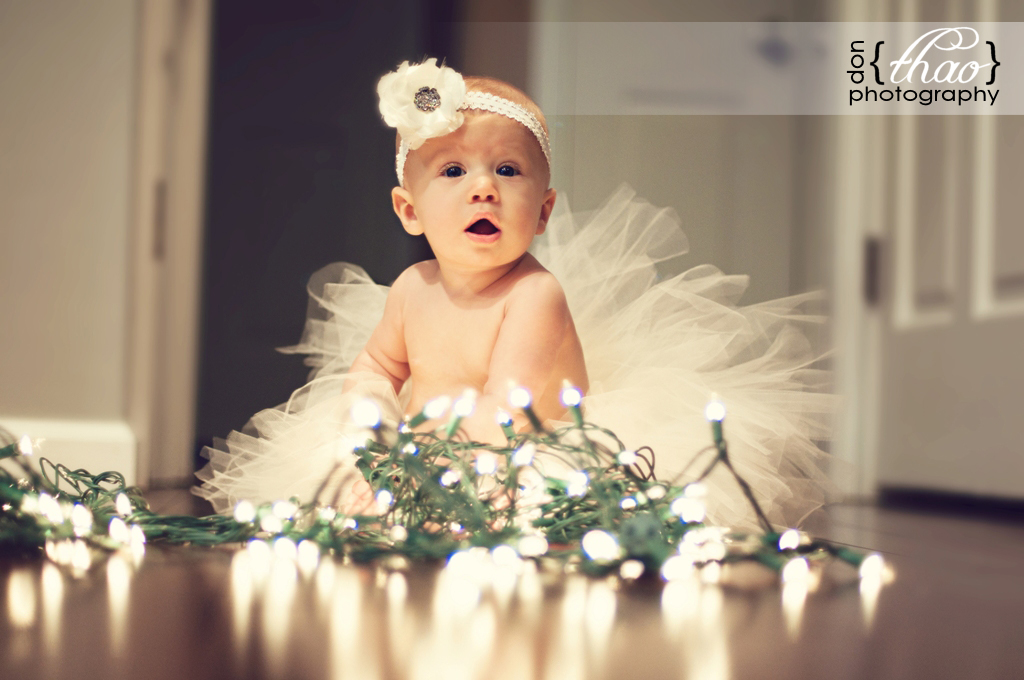 6 month old baby girl photography session - donthaophotography.com