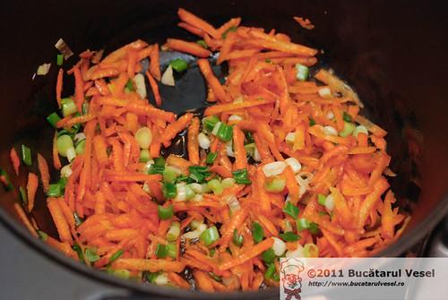 Baza de gust - morcov, ceapa verde, usturoi