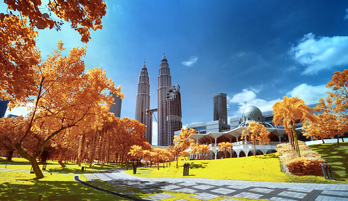 As-Syakirin Mosque & KLCC II | Infrared