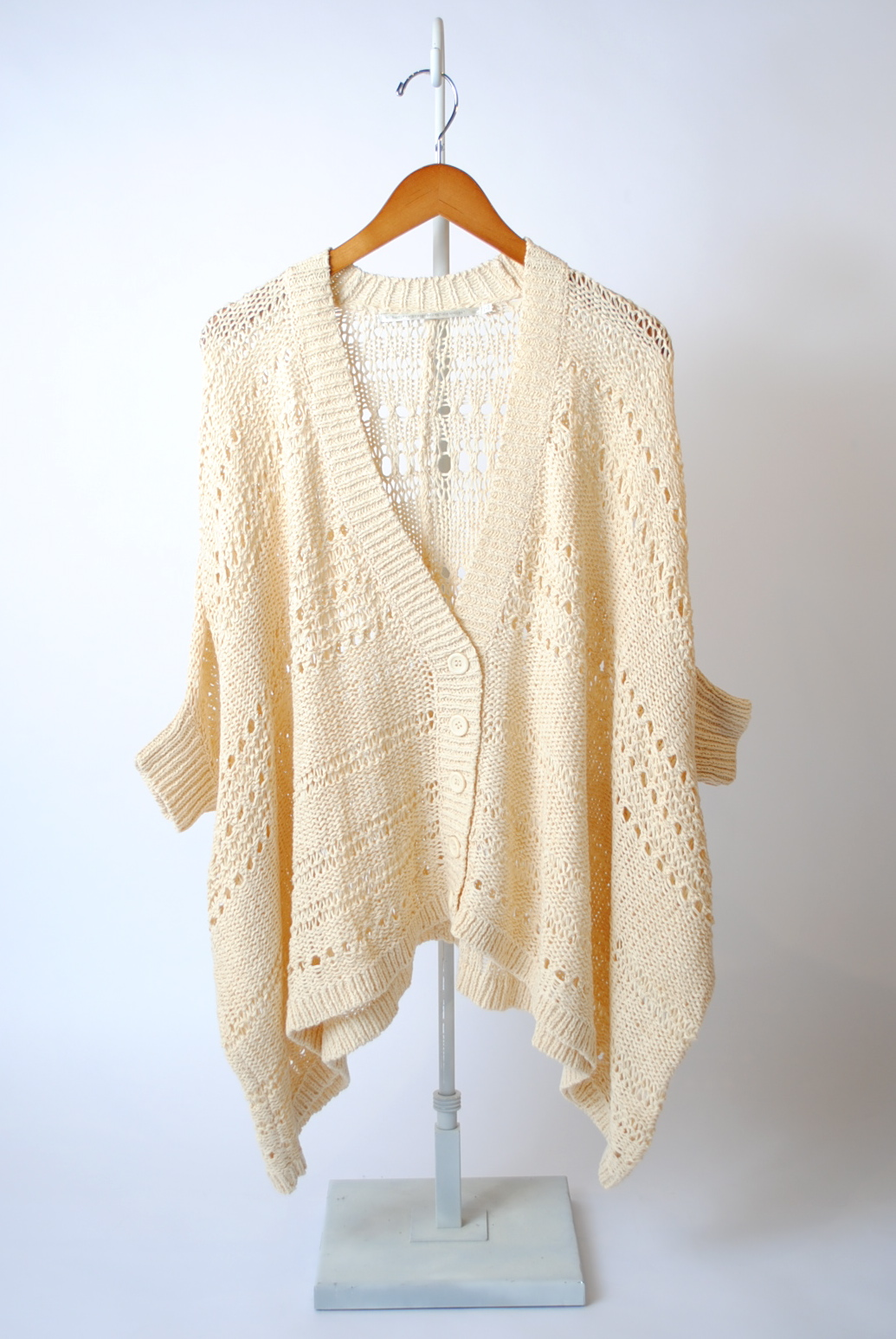 Tape Yarn Cardigan