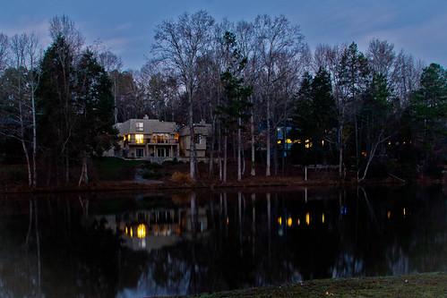 water sunrise pond lowlight raintree wherewelive