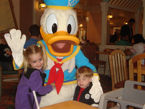With Donald at Breakfast