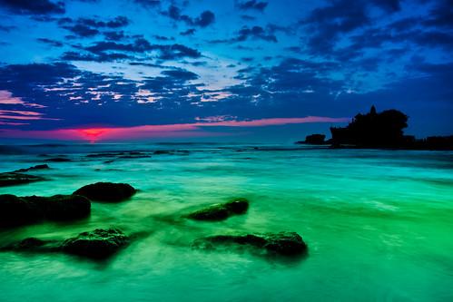 無料写真素材, 自然風景, 海, ビーチ・海岸, 風景  インドネシア