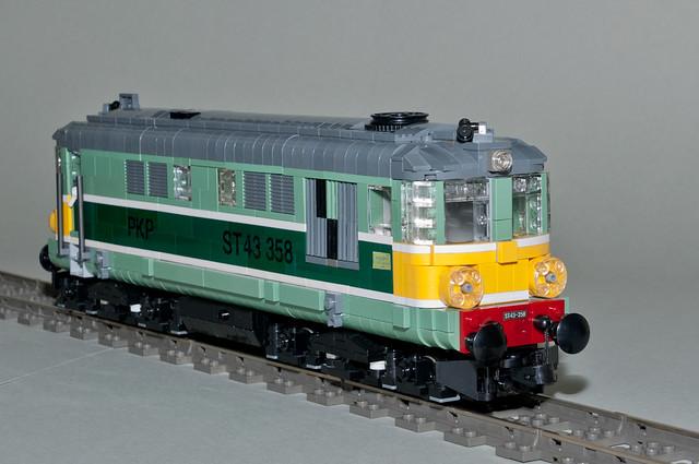 PKP ST43 diesel engine