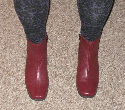 carpet and  boots