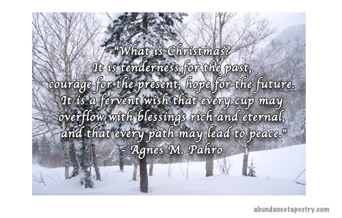 Christmas Quote: What is Christmas