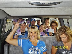 Inside the Party Bus - Detroit Lions Monday Night Football
