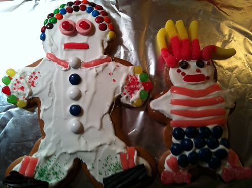 Emma and Dan in cookie form