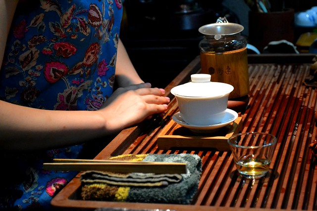 Chinese tea ceremony manners