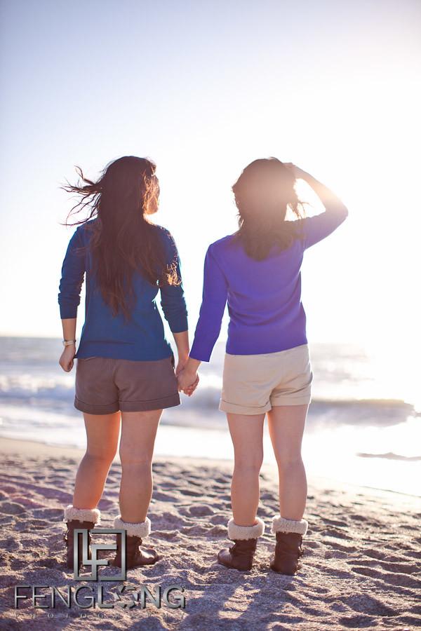 Tomomi & Fion's Beach Photo Shoot | Sand Key Park | Clearwater Florida Wedding Photographer