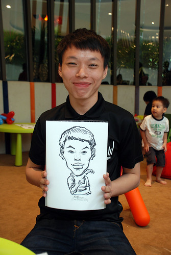 caricature live sketching for Forestque Residence (Wing Tai) - Day 1 - 20